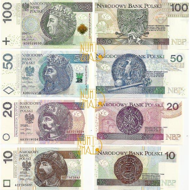 Nowe banknoty NBP