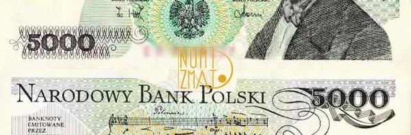 Skup, komis polskich banknotow obiegowych i kolekcjonerskich