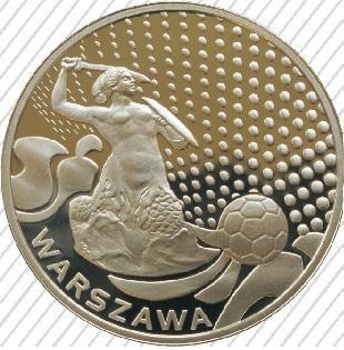 Warszawa, SREBRO, Miasta Gospodarze Mistrzostwa Europy EURO 2012