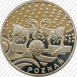 Poznań, SREBRO, Miasta Gospodarze Mistrzostwa Europy EURO 2012