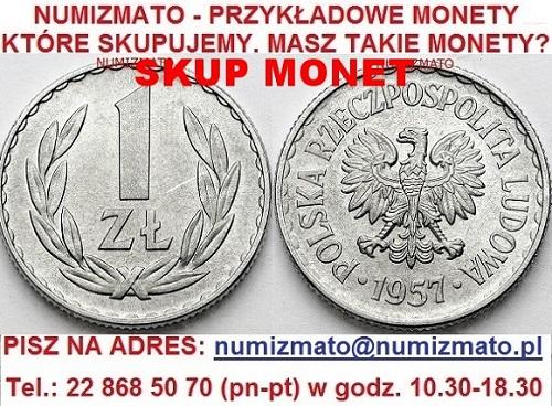 Kupie Stare Monety Cennik Skup Starych Monet Sprzedaż